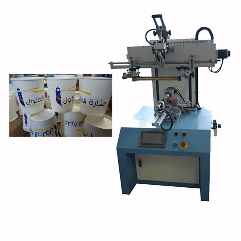 Servo system LC-PA-400ES Semi-automatic Screen Printer  12