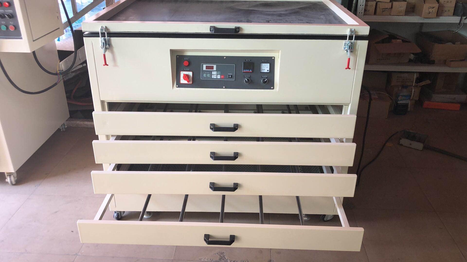 Screen drying cabinet and exposure unit TM-1200SBHX 6