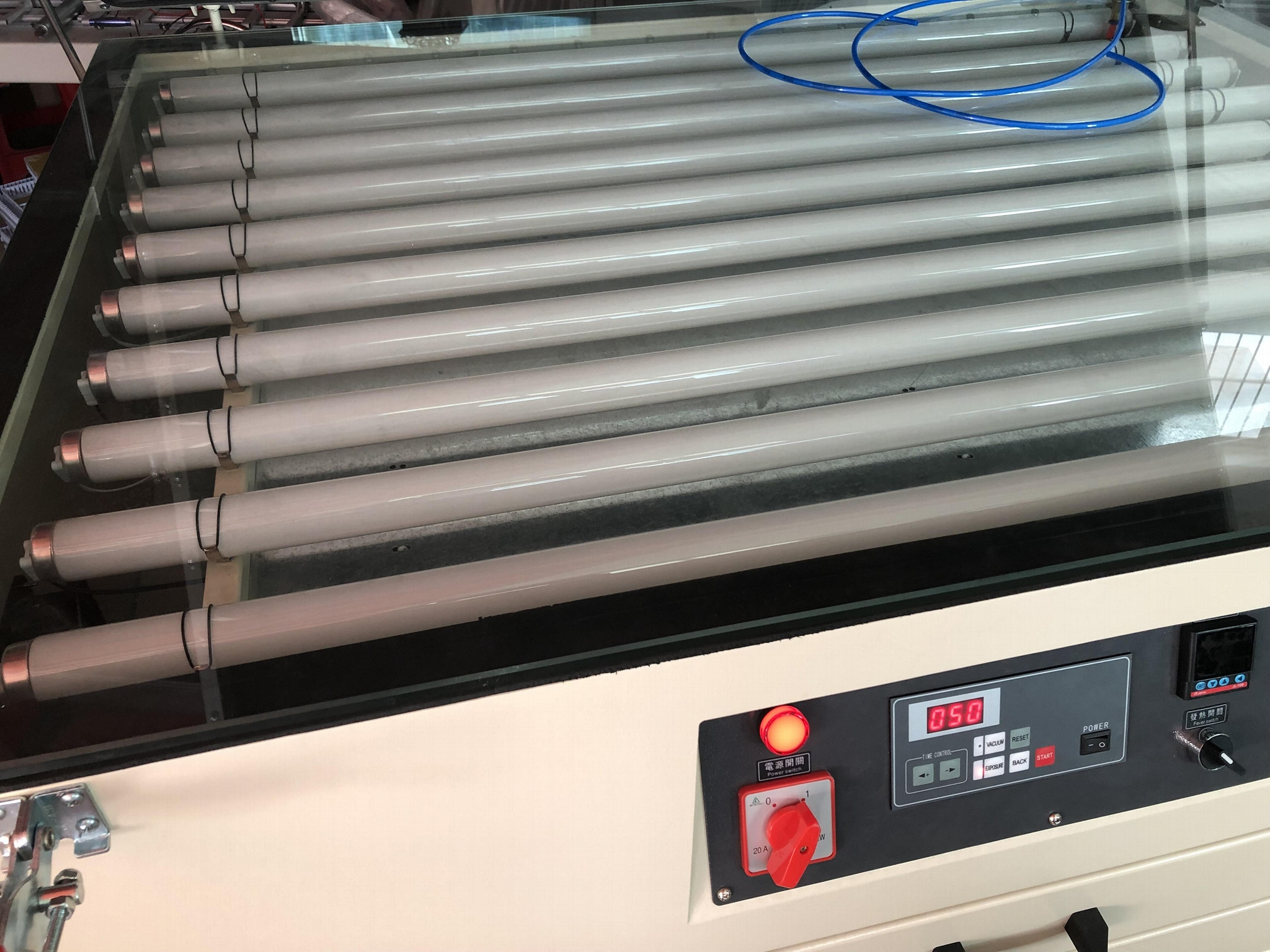 Screen drying cabinet and exposure unit TM-1200SBHX 9
