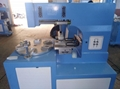 PLC 2 color pad printing machine with 6 station  6