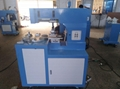 PLC 2 color pad printing machine with 6 station  8
