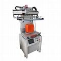 Flatprecision screen printing machine with ttable