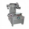 Servo Flatprecision screen printing machine with movementvacuum table