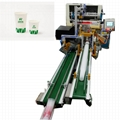 Automatic Plastic Cup PrinterWith Led UV Curing Dryer