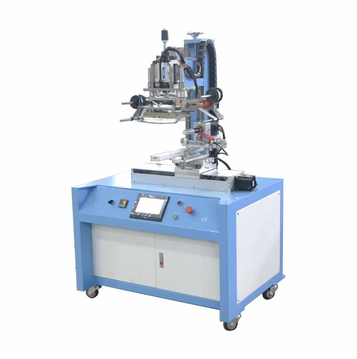 PLC Control Servo Positioning Hot Stamping Machine 3