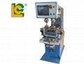 Double head Independent cylinder 2 color pad printer with clean system