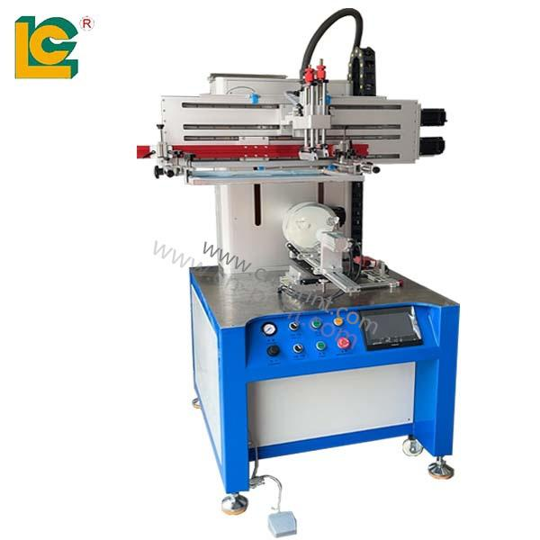 CNC servo special-shaped bottle screen printing machine 1