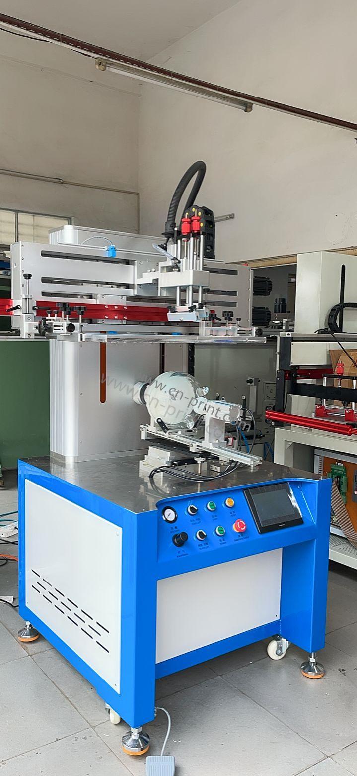 CNC servo special-shaped bottle screen printing machine 4