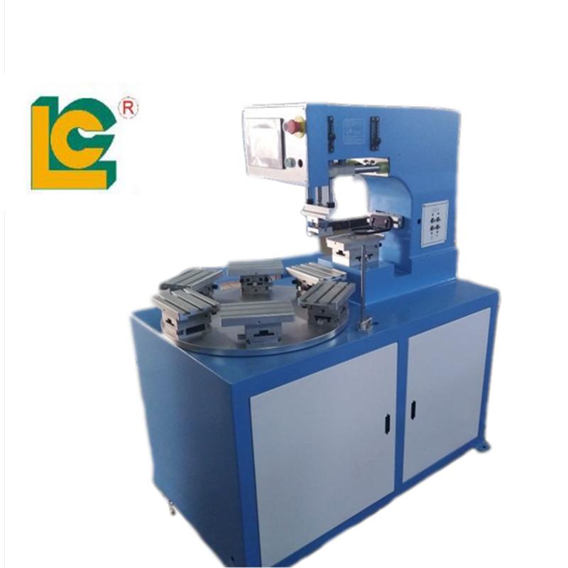 6 station rotary pad printing machine 1