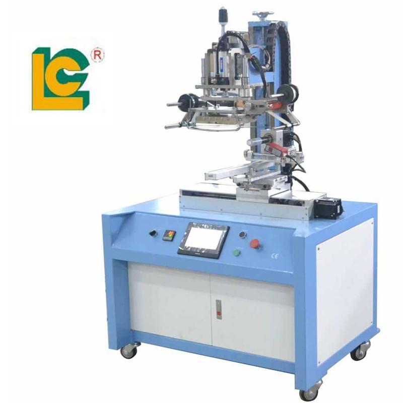 PLC Control Servo Positioning Hot Stamping Machine 2