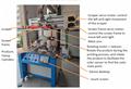 CNC servo special-shaped bottle screen printing machine 17