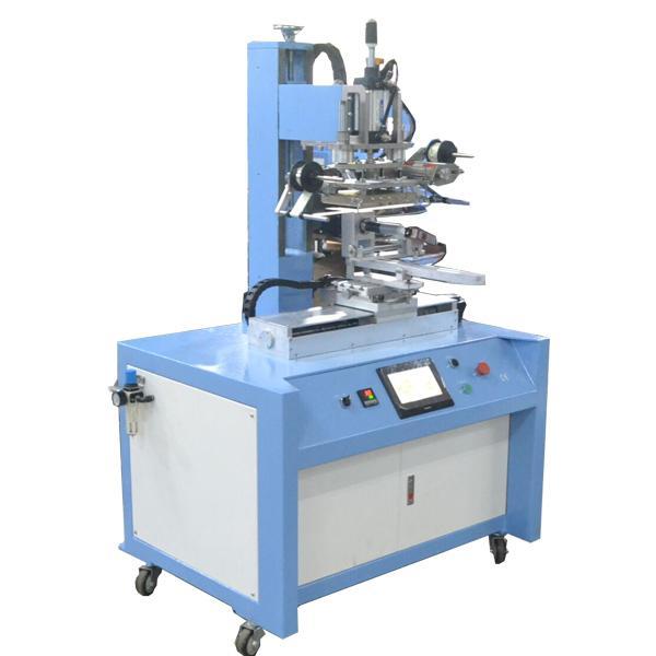 PLC Control Servo Positioning Hot Stamping Machine 1