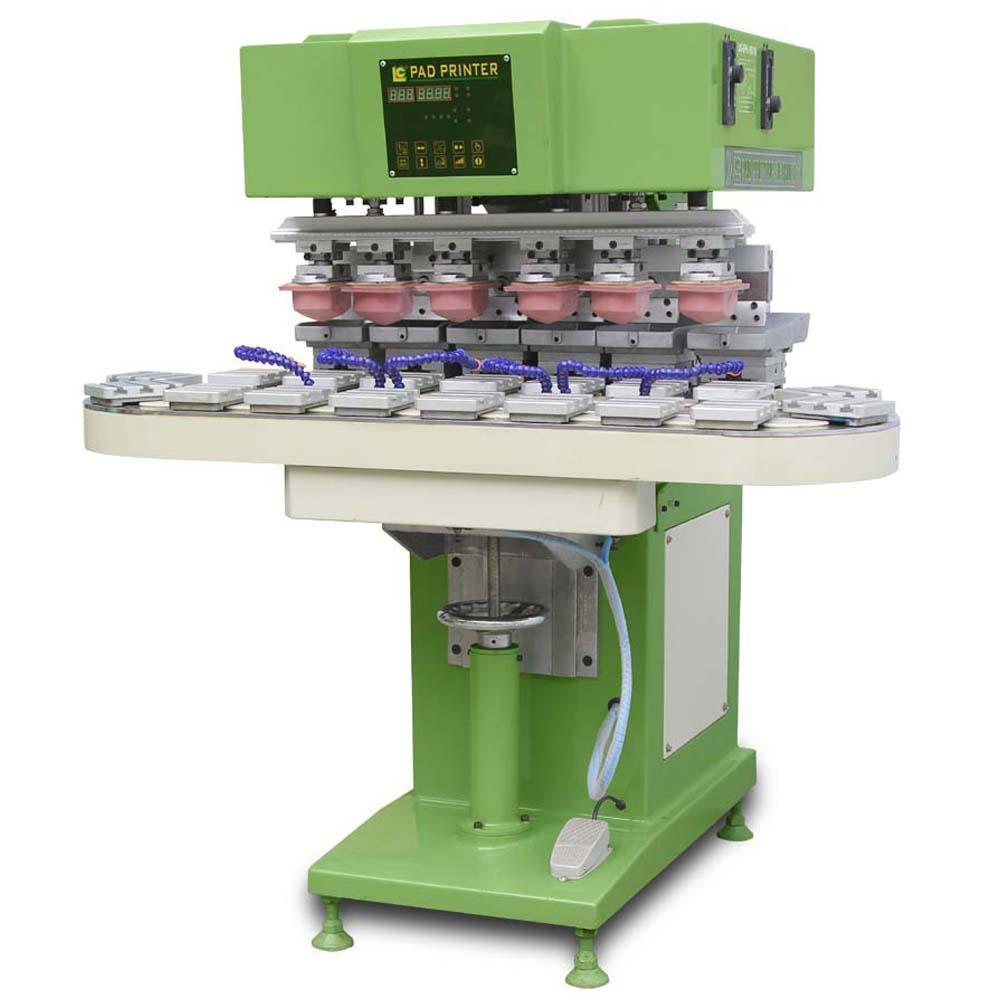 Six-Colour  Conveyor  Tampo  Printer   2