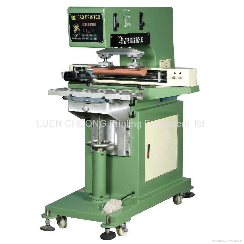 Single Transverse  Flow    Pad Printer 4