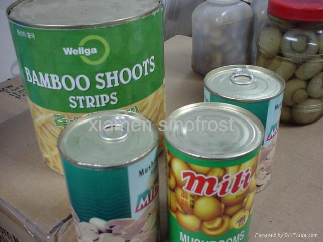 蘑菇罐頭,麻筍罐頭,馬蹄罐頭,蘆筍罐頭,蜜桔罐頭,黃桃罐頭 1