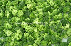 IQF broccoli  (florets/cuts),BQF broccoli (cuts/spears),Frozen broccoli (Hot Product - 1*)