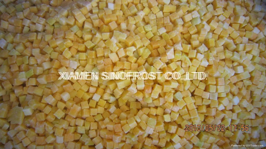 冷凍南瓜丁,冷凍南瓜塊 3