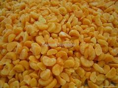 IQF mandarin segments, Frozen mandarin segments,mandarin puree