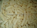 IQF bamboo shoots slices ,Frozen bamboo shoot slices ,IQF sliced bamboo shoots 15