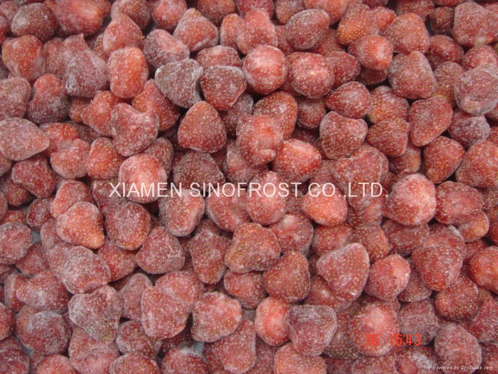 冷凍草莓,速凍草莓,冷凍草莓泥,速凍草莓泥 4