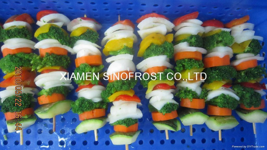 IQF mixed vegetables,Frozen mixed vegetables 1