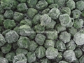 Frozen spinach leaf balls,IQF chopped
