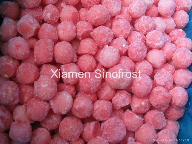 IQF watermelon balls,Frozen Watermelon balls 1