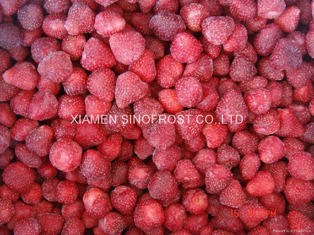IQF Whole Strawberries,Frozen Whole Strawberries,Grade A ,Calibrated 5