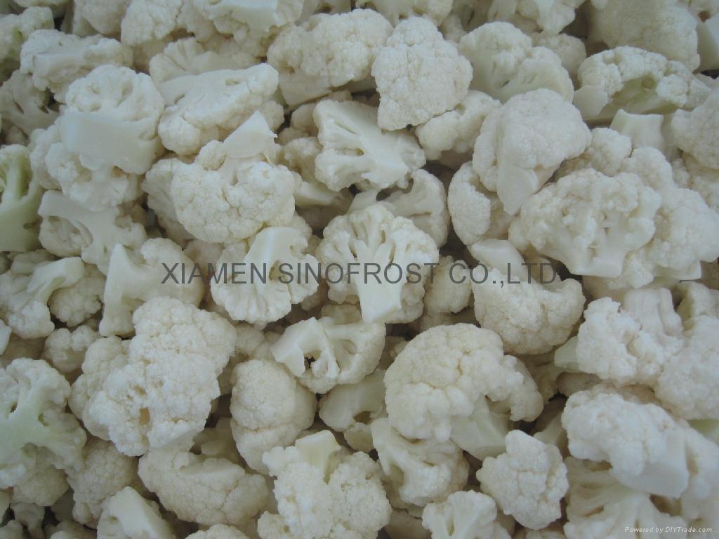 IQF cauliflowers florets,Frozen cauliflowers florets 2
