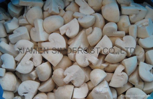 IQF champignon mushrooms,Frozen mushrooms,IQF mushrooms(slices/wholes/cuts ) 4
