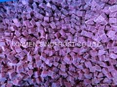 IQF purple sweet potato,sliced/diced