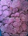 IQF purple sweet potato,sliced/diced 5