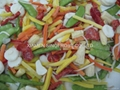 IQF mixed vegetables,Frozen mixed vegetables 3