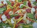 IQF mixed vegetables,Frozen mixed vegetables 3
