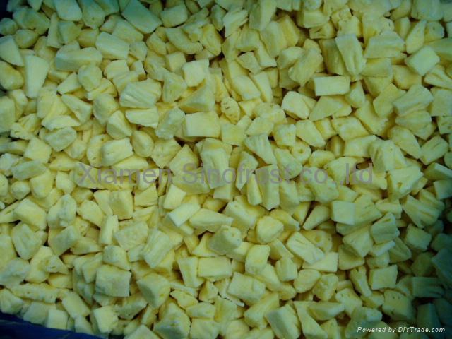 IQF pineapples ( tidbits/chunks/diced),Frozen pineapples (tidbits/chunks/diced) 5