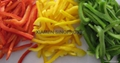 IQF peppers (red/green/yellow)