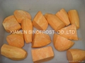 IQF red sweet potato,diced/sliced
