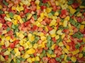 New crop IQF peppers,green/red/yellow,blanched/unblanched