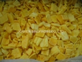 IQF Yellow Pepper Cubes ,Frozen Yellow