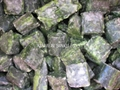 Frozen Chopped Spinach Tablets, IQF Chopped Spinach Tablets, IQF Chopped Spinach