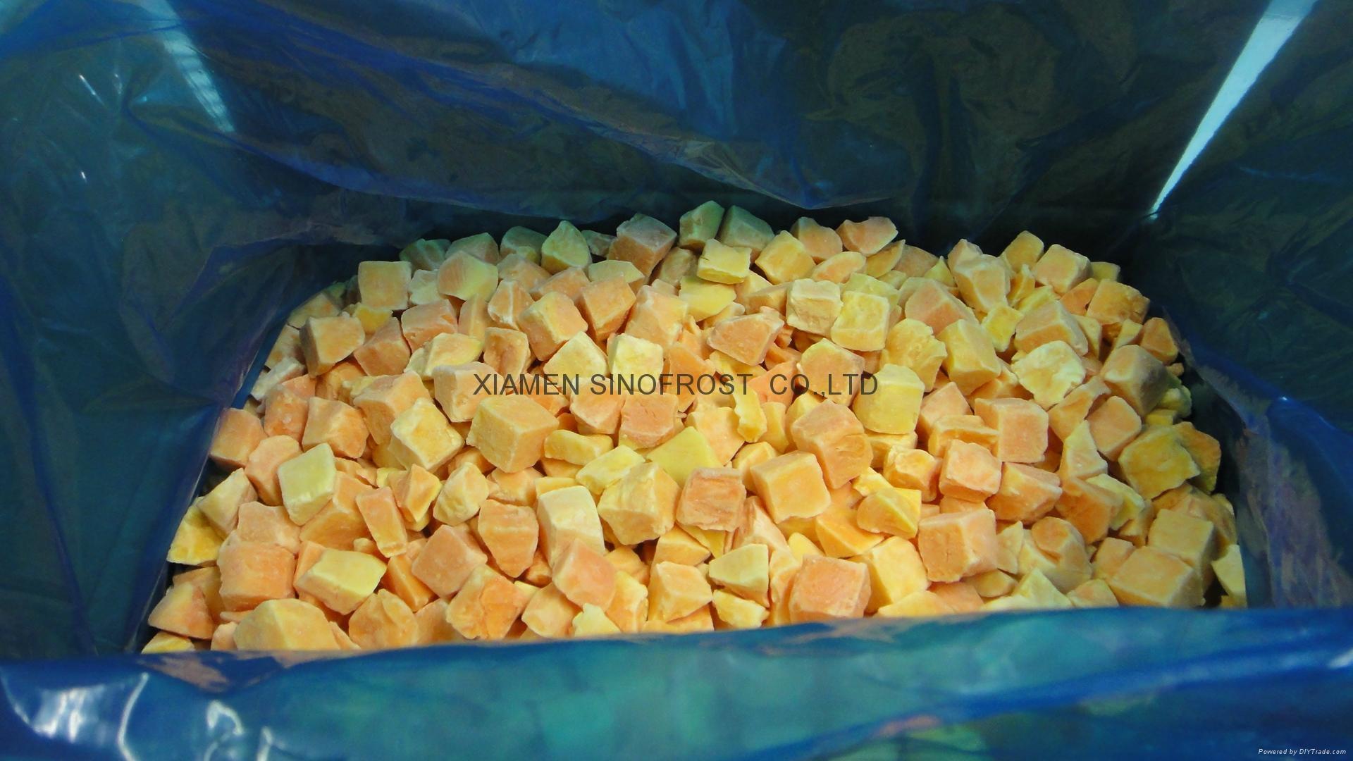 IQF Sweet Potato Dices,Frozen Sweet Potato Dices,IQF Cut Sweet Potato 11