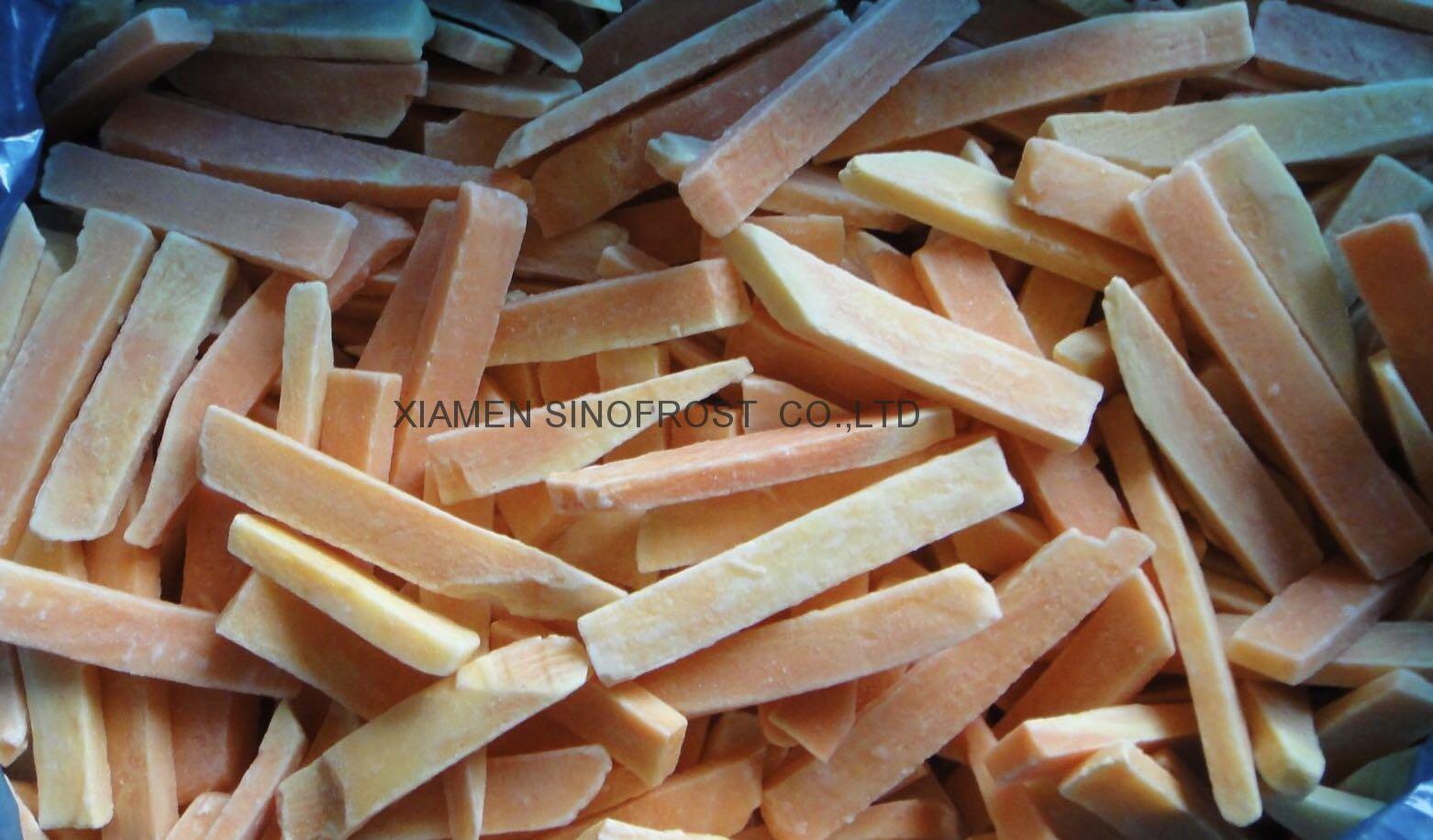 IQF Sweet Potato Dices,Frozen Sweet Potato Dices,IQF Cut Sweet Potato 12