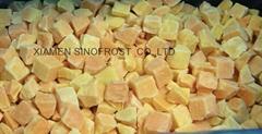 IQF Sweet Potato dices,Frozen Sweet Potato dices,IQF Cut Sweet Potato