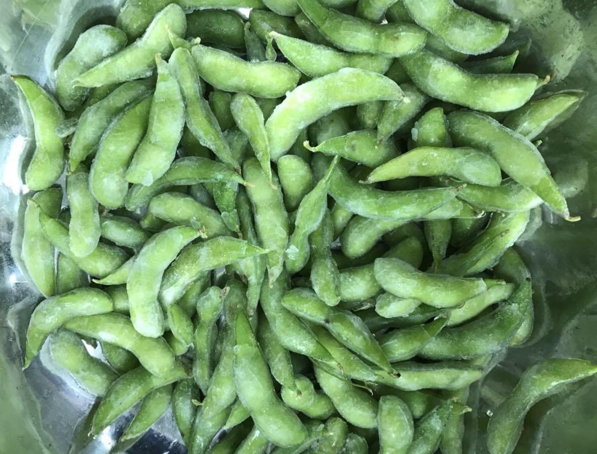 IQF Glazed Edamame in pods,Frozen Glazed Edamame in pods,IQF glazed soybeans 2