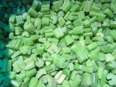 IQF Diced Celery,Frozen Diced Celery,IQF Celery Dices,Frozen Celery Dices