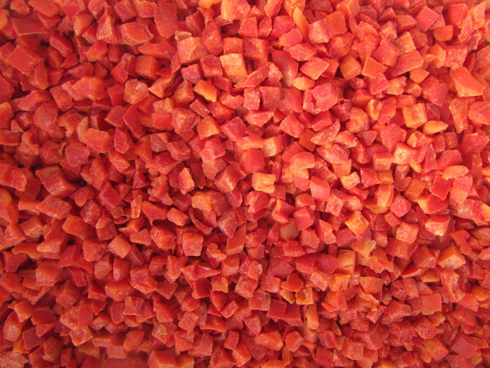 IQF Red Peppers Strips,Frozen Red Peppers Strips 5