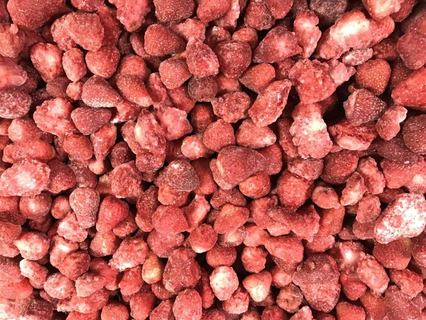 IQF Whole Strawberries,Frozen Whole Strawberries,Grade A/A+B/B/C 14