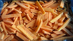 IQF sweet potato sticks,Frozen sweet potato sticks,IQF Sweet Potato Slices
