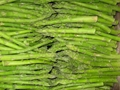 IQF green asparagus, Frozen green