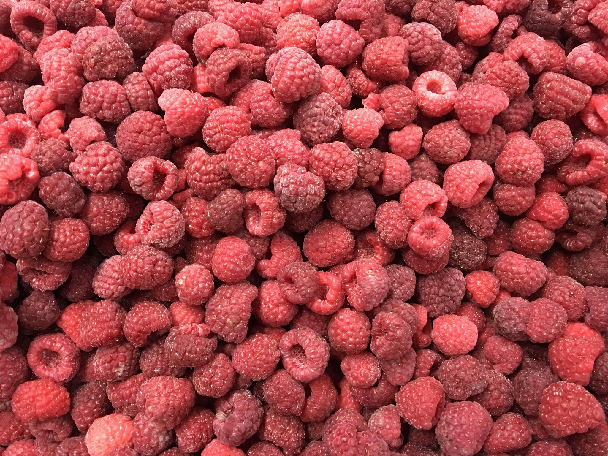 冷凍樹莓,速凍樹莓 1